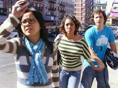DramaQueen (Street Witness) Tags: street nyc chinatown samsung pedestrians argument passerby nv7