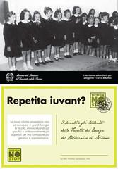Repetita-iuvant (designnostop) Tags: design no milano postcard stop politecnico facoltà ddl gelmini designnostop