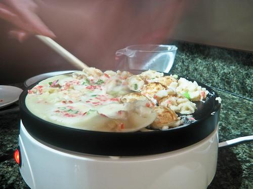Making Takoyaki - Turning Takoyaki 2