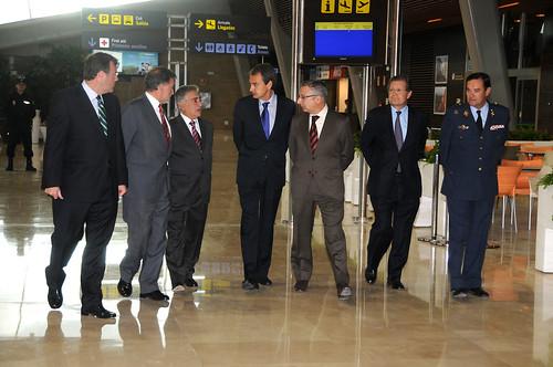 Inauguración Aeropuerto de León