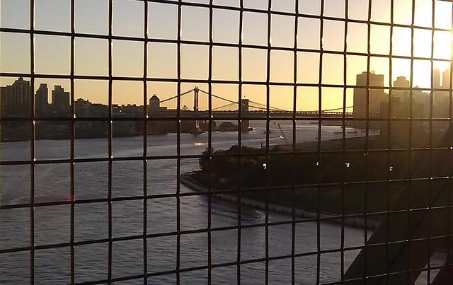 Brooklyn Bridge from Williamsburg Bridge