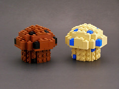 Stud Muffins (Legohaulic) Tags: food lego muffin creationsforcharity cfc2010 creationsforcharity2010