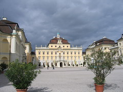 Ludwigsburg palace view
