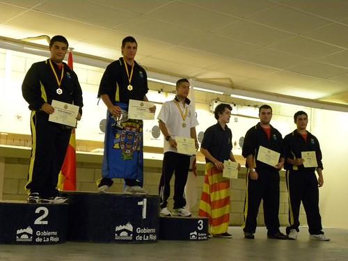 Carlos Madolell campeon y record de España