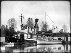 Britannia (Clayton Perry Photoworks) Tags: old heritage boat decay richmond nautical shipyard hdr steveston britannia