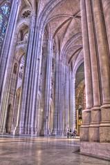 Cathedral of St John the Divine (MrBobDobolina) Tags: nyc newyork church saint st stone john cathedral divine column pillars hdr
