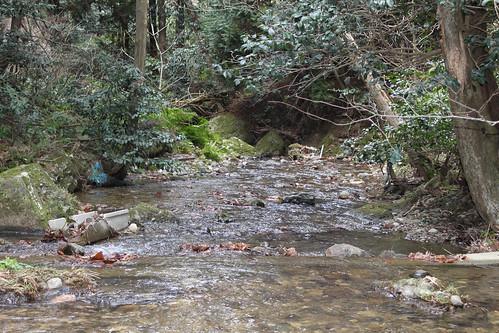 涌滝の流れ