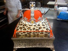 Royal Leopard Cake (AUI (Albert Uster Imports)) Tags: orange cake massa leopard fourseasons crown