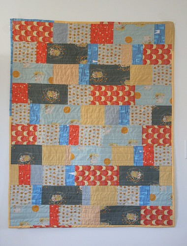 Our Line Quilt (crib sized)