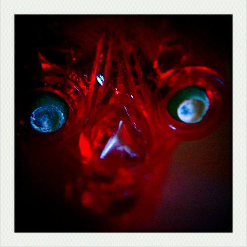 Red Monster Skull