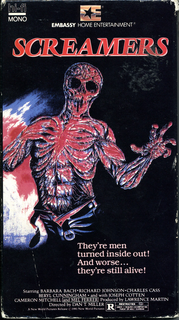 Screamers (VHS Box Art)