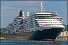 Queen Victoria (Aviation & Maritime) Tags: oslo norway cruiseship cunard queenvictoria qv cunardline