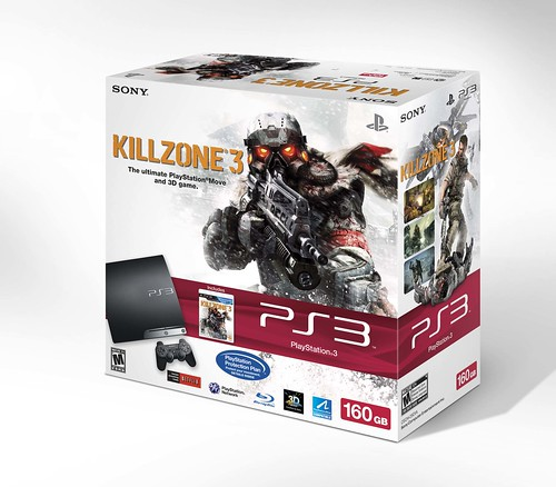 PS3 160GB Killzone 3 Bundle