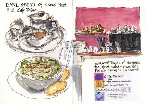 Earl Greys of Crows Nest 12 - Cafe Ticini