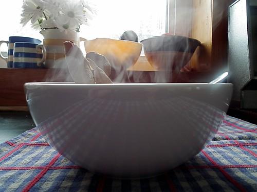 steamy
