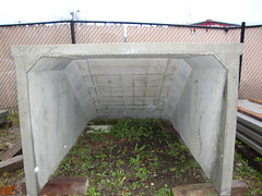 Inside of the steps