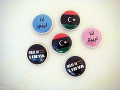 Proud Libyan (acraftyarab) Tags: africa handmade buttons middleeast arabic arab libya tripoli libyan arabamerican arableague muammaralgaddafi pushbackpins zibbet acraftyarab
