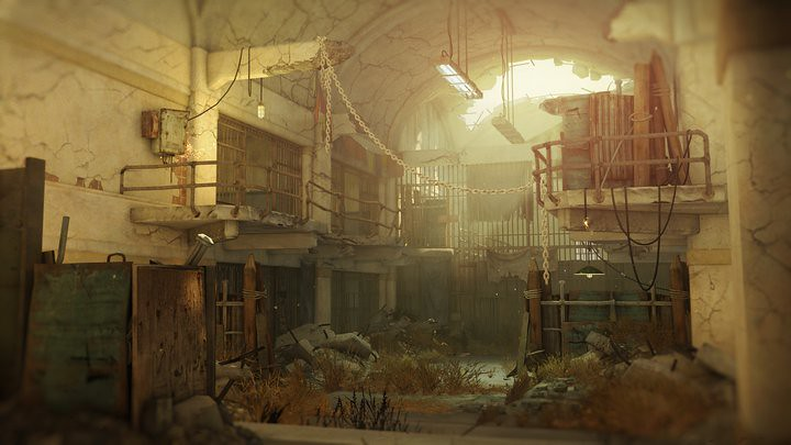 Abandoned Prison Building in Resistance 3