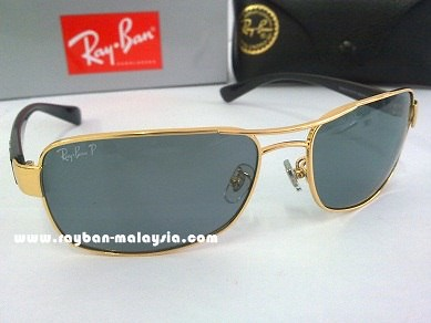 RB 3379 Gold Polarized 2