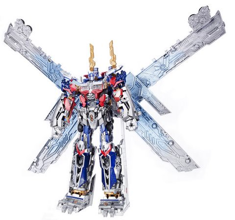 TRANSFORMERS MECHTECH ULTIMATE OPTIMUS PRIME (Robot in Mech Suit)