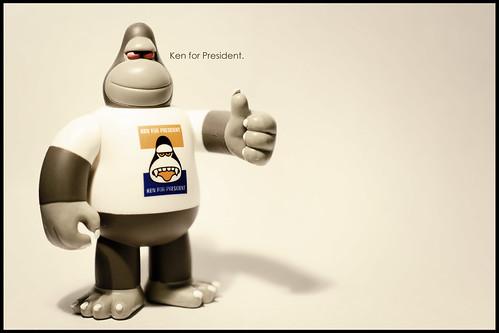 Ken for President.