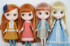 Girls with the Special Lashes (_*catching up*) Tags: cute girl doll heart n strawberries montmartre spell midnight blythe dear mecanique lele creamy poupee