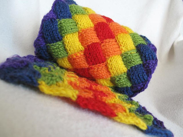 This Is What Rainbow Entrelac Looks Like Or Why I Love Knitting ...