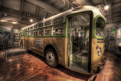 The Rosa Park Bus [Explored] (Raf Ferreira) Tags: park bus car freedom movement detroit rosa rafael hdr onibus mighigan ferreira peixoto