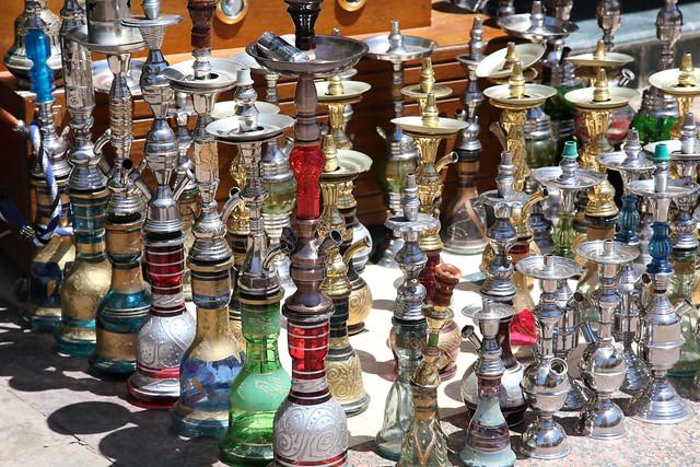エジプト、アスワンの水タバコ屋