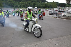 IMG_9361 (Christophe BAY) Tags: mobyltettes francorchamps 2017 rétromobile club spa circuit moto vespa camino flandria