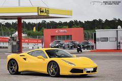 Ferrari 488 GTB (Alexandre Prévot) Tags: european cars automotive automobile exotics exotic supercars supercar worldcars nancy lorraine france 54 54000 auto car berline sport voiture route transport déplacement parking luxe grandestsupercars ges meurtheetmoselle