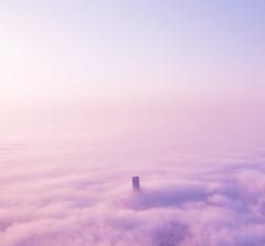 (yeeship) Tags: dubai burj khalifa uae travel cloud sky building purple fuji xt10