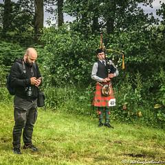 Piping Practice (FotoFling Scotland) Tags: piper photographer bagpipe beard camera kilt lusshighlandgames fotoflingscotland