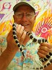 Fly Fishing Guide Fred Gordon with an Upper Sacramento River Mountain King Snake