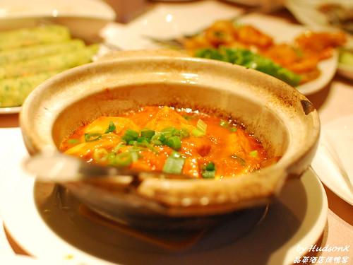 蟹粉豆腐褒