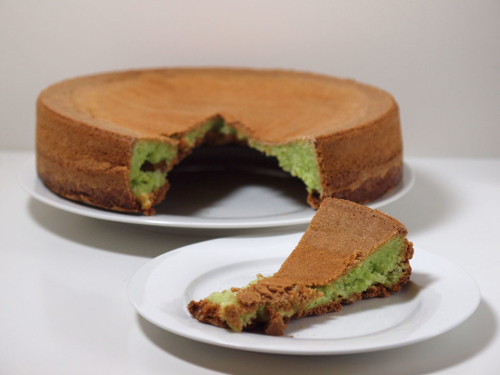 TCC - Pandan Cake - Finished 1