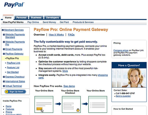 Payflow Pro Screenshot