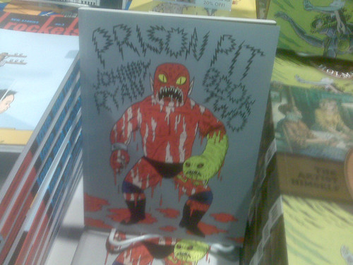 Last copies of Prison Pit Book 2 - Fantagraphics at Comic-Con 2010