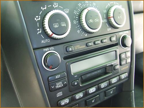 Detallado interior integral Lexus IS200-30