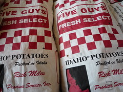 five guys spuds
