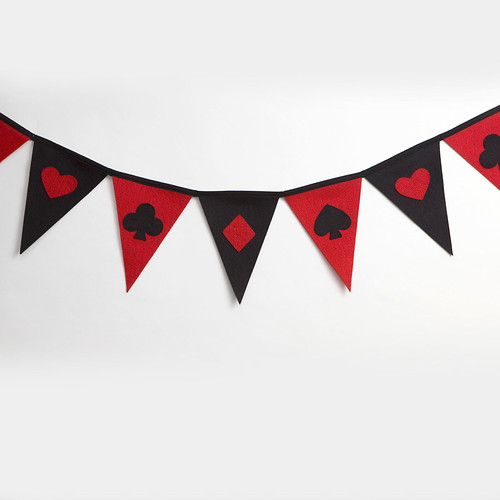 Bunting Playing Card