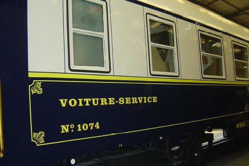 Swiss luxury carriages - service car (fourgon)