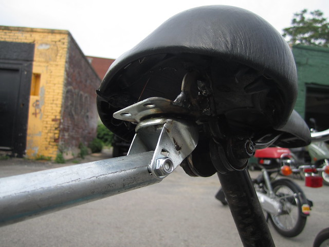 Caster wheel Bicycle hitch