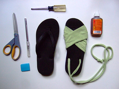 Summer Sandals Tutorial 1