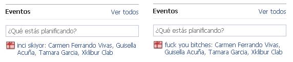 Facebook cumpleaños hackeado