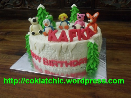 Pororo And Friends Cake Kafka Jual Kue Ulang Tahun