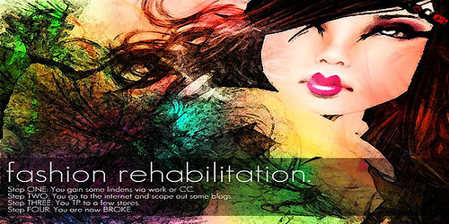 Fashion Rehabilitation Poster