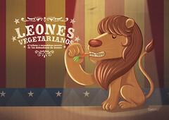 león vegetariano (:raeioul) Tags: lion www leon vegetarian vegetariano gooo raeioul raeioucom