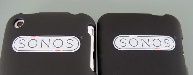 Sonos branded sleeve