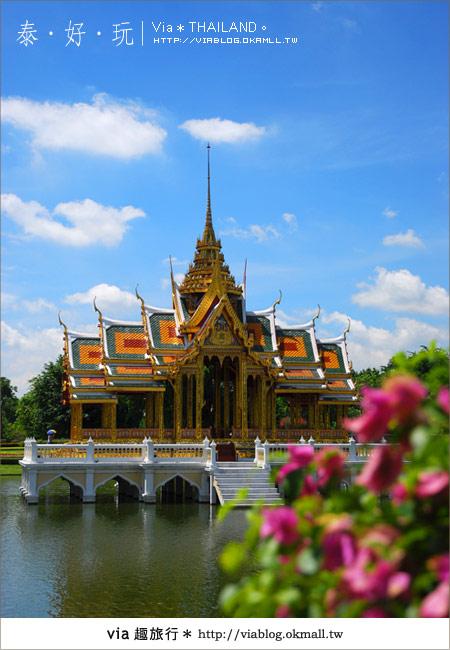 【泰國旅遊】大城之旅|泰皇的渡假聖堂~芭茵夏宮15